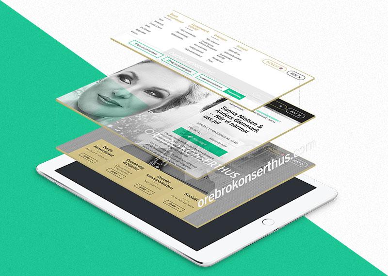Örebrokonserthus webbplats